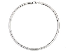 Sterling Silver Omega Link Chain Necklace 20 inch 8mm