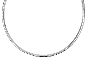 Sterling Silver Omega Necklace 20 inch 3mm