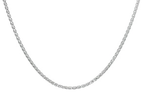 Sterling Silver Wheat Chain 18 inch
