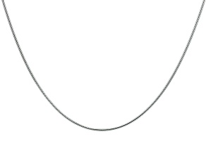 Sterling Silver Snake Chain 24 inch