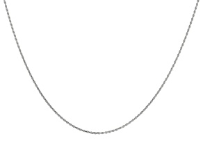 Sterling Silver Rope Chain 60 inch