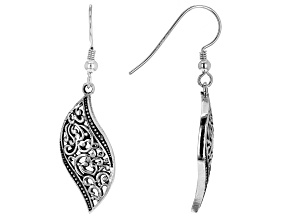 Sterling Silver Dangle Design Earrings