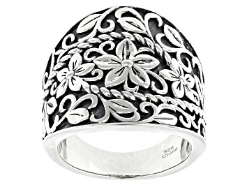 Picture of Sterling Silver Dome Designer Band Ring