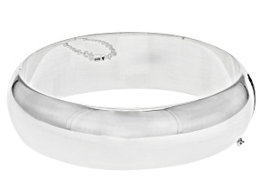 "Sterling Silver 18MM 7"" Bangle Bracelet"