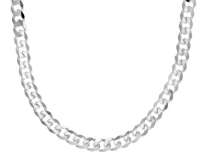 Sterling Silver 20 Inch Curb Necklace
