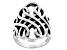 Sterling Silver Swirl Ring
