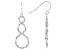 Sterling Silver Infinity Teardrop Earrings