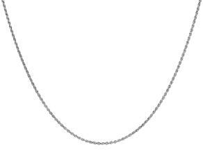 Sterling Silver Diamond-Cut 1.8MM Rope Chain