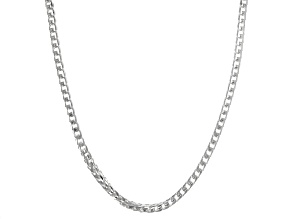 Sterling Silver 3.7MM Franco 24 Inch Chain