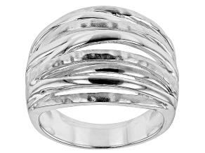Sterling Silver Bridge Ring