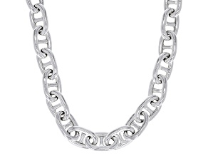 Sterling Silver Mariner Link Chain