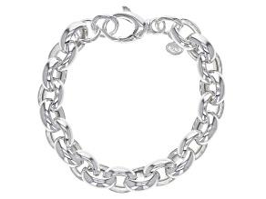 Sterling Silver 11MM Rolo Link Bracelet