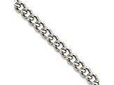 Stainless Steel 5mm Curb Link 18 inch Chain Necklace