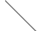 Stainless Steel  3mm Box Link 22 inch Chain Necklace