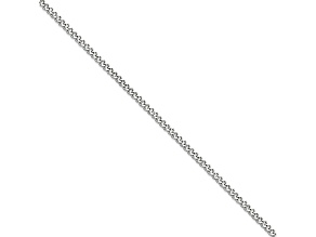 Sophisticated Steel® Stainless Steel 3mm Curb Link 22 Inch Chain Necklace