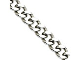 Stainless Steel 13.5mm Curb Link 24 inch Chain Necklace