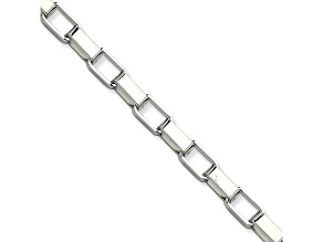 Stainless Steel 4.5mm Box Link 30 inch Chain Necklace