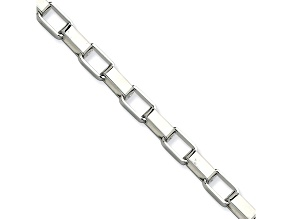 Stainless Steel 4.5mm Box Link 22 inch Chain Necklace