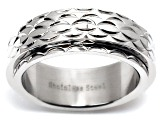 Stainless Steel Spinner Band Ring