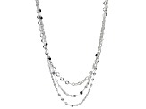 Sterling Silver Multi-Strand Necklace