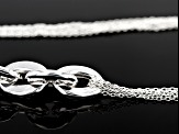 Sterling Silver Multi-Strand Necklace 18 inch
