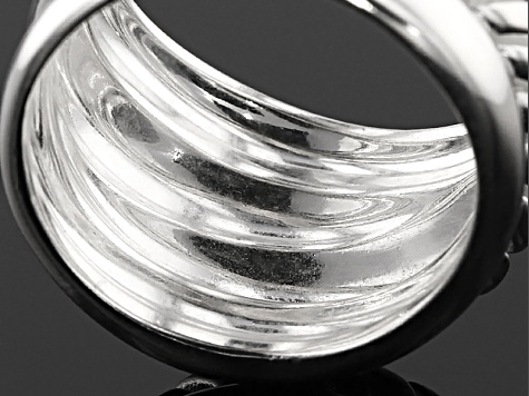 Sterling Silver Spiral Band Ring