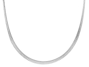 Sterling Silver Diamond Cut Cleopatra Link Choker 17 inch Plus 2 inch Extender Necklace