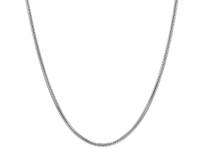 Sterling Silver Foxtail Link Chain Necklace 20 inch