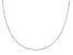 Sterling silver adjustable wheat chain necklace 24 inch