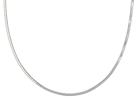 Sterling Silver 1.4mm gauge Snake Chain Necklace 18 Inch