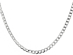 Sterling Silver 5mm Chain Necklace 24 Inch