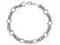 Sterling Silver Diamond Cut And Polished Fancy Byzantine Bracelet 8 Inch