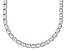 Sterling Silver 3.8MM Mariner Flat Chain Necklace 20 Inch