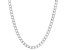 Sterling Silver 4.7MM Polished Curb Link Chain Necklace 20 Inch