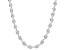Sterling Silver 5MM Spiral Herringbone Chain Necklace 18 Inch