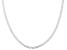 Sterling Silver 2MM Link Chain Necklace 18 Inch