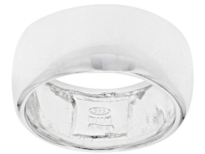 Sterling Silver High Polished Wide Band Ring