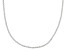 Sterling Silver 1.2MM Polished Spiral Link Chain Necklace 18 Inch
