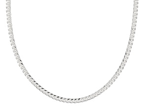 Sterling Silver 1.5MM Twisted Wheat Chain Necklace 18 Inch
