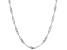 Sterling Silver Diamond Cut Singapore Chain Necklace