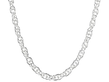 Picture of Sterling Silver Rope Chain Necklace