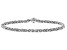 Sterling Silver Byzantine Bracelet With Magnetic Clasp 8 Inch