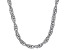 Sterling Silver 4MM Torchon Rope Chain Necklace 20 Inch