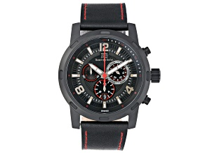 Buech Boilat Baracchi Mens Swiss Chronograph 46mm Case Watch