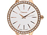Chamount 36mm Case Classic Swarovski Bezel Watch