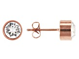 Burgi™ Crystals From Swarovski™ Rose Tone Base Metal Bangle Watch, Pendant, And Earrings Gift Set