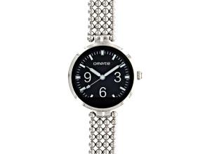 Omate Lutetia Ladies Silver Tone Smart Watch