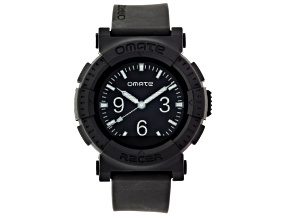 Omate Racer Black Rubber Smart Watch