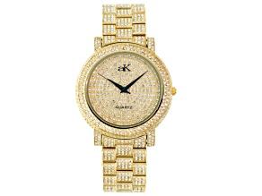 Adee Kaye Beverly Hills Crystal Yellow Watch