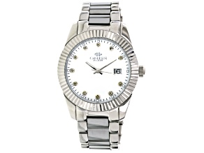 Oniss Sapphire Silver Tone Watch